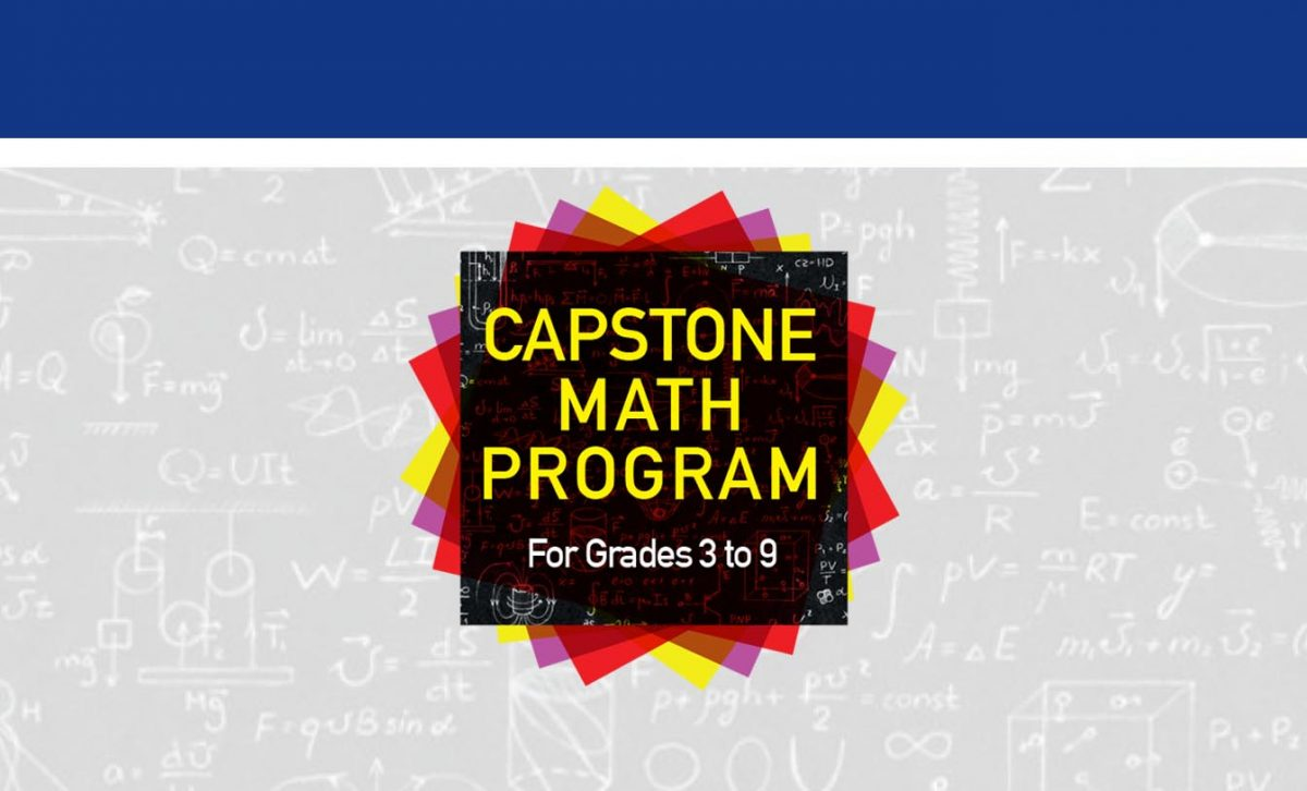 Capstone Math Program