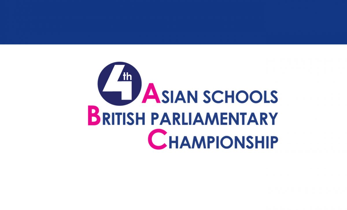 Open for Registration! 4th Asian Schools British Parliamentary Championship
